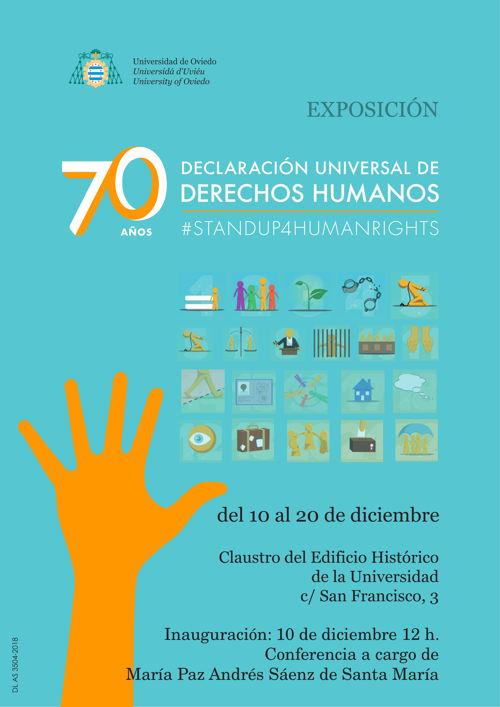 Cartel Exposición Derechos Humanos