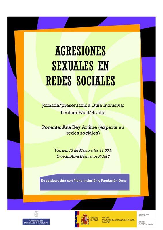 Agresiones Sexuales en redes Sociales